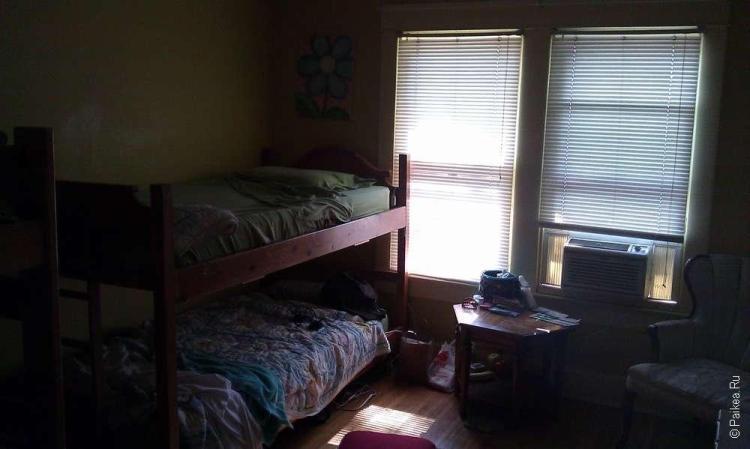 Indy Hostel - комната хостела в США