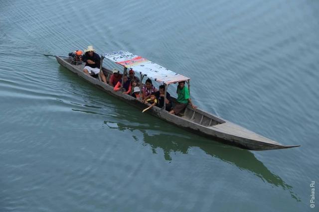 Лаос - 4000 островов - Дон Кон (Laos - Si Phan Don - Don Khone)