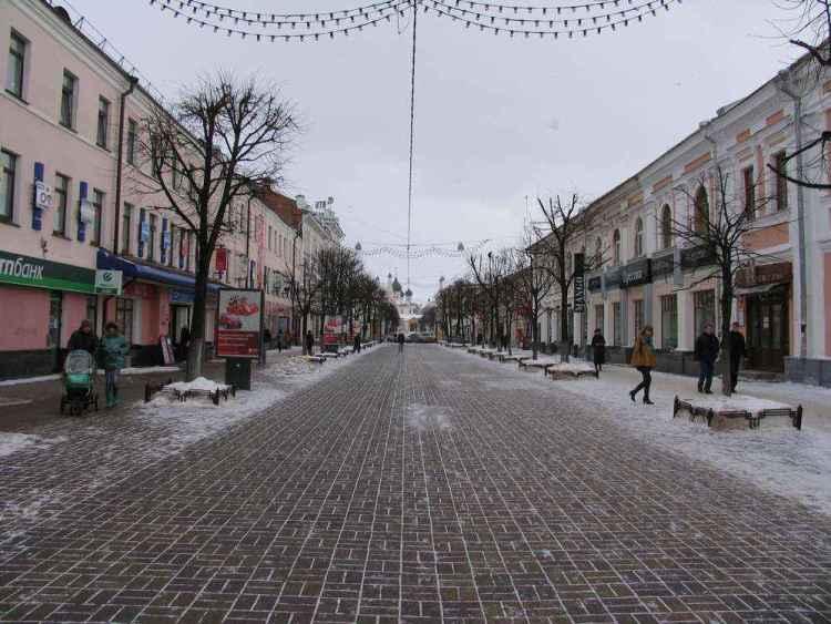 Ярославль - Главная пешеходная улица