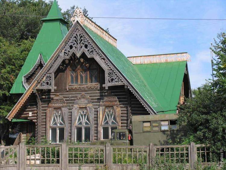 Город Ульяновск - деревянный дом