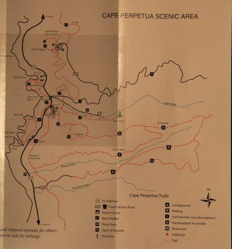 карта мыса перпетуа