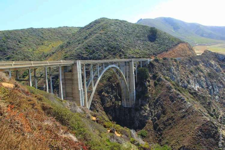 Мост Биксби (Bixby Bridge)