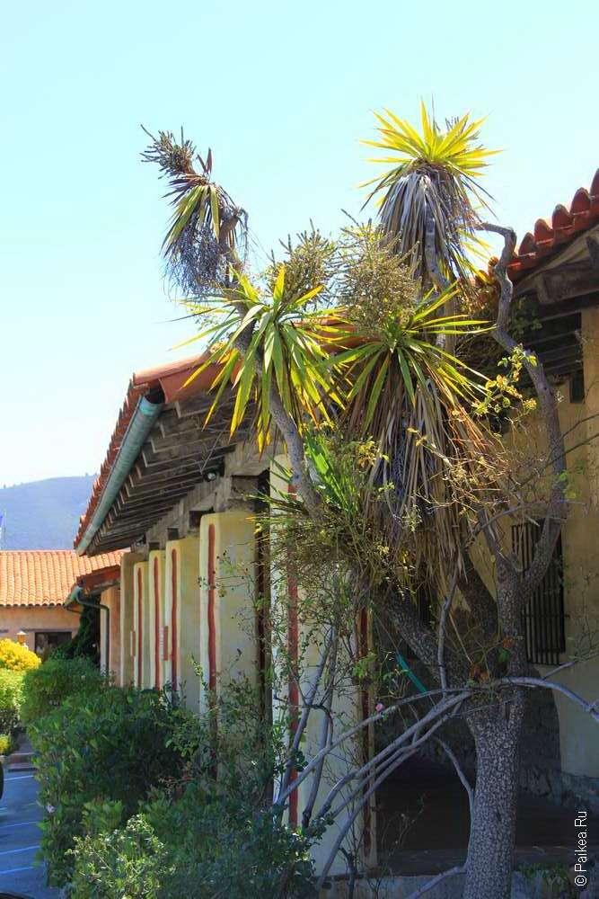 Стены миссии Сан Карлос