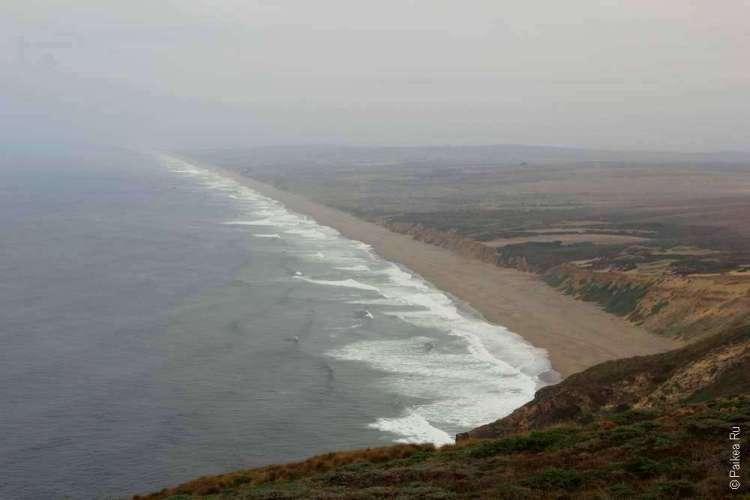 Волны у пляжа