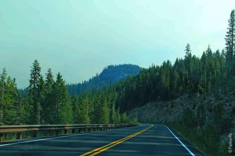 Дорога к зеленым холмам