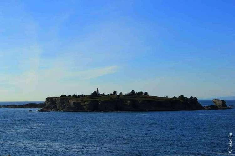 Мыс Флэттери - Остров Татуш (Tatoosh)