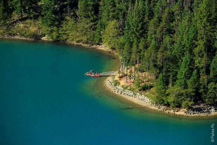 берег озера диабло