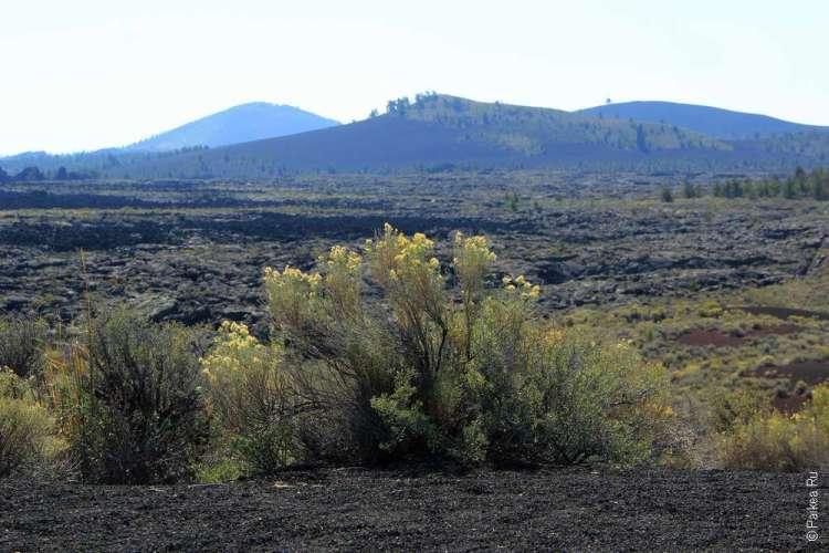 Лавовое поле лунные кратеры