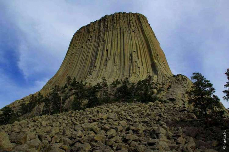 Башня Дьявола в штате Вайоминг США