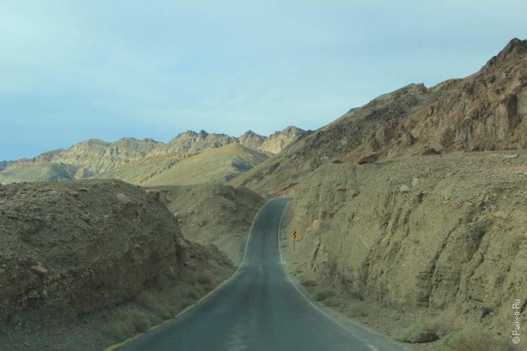 Палитра художника, Долина Смерти, США (Death Valley, USA)