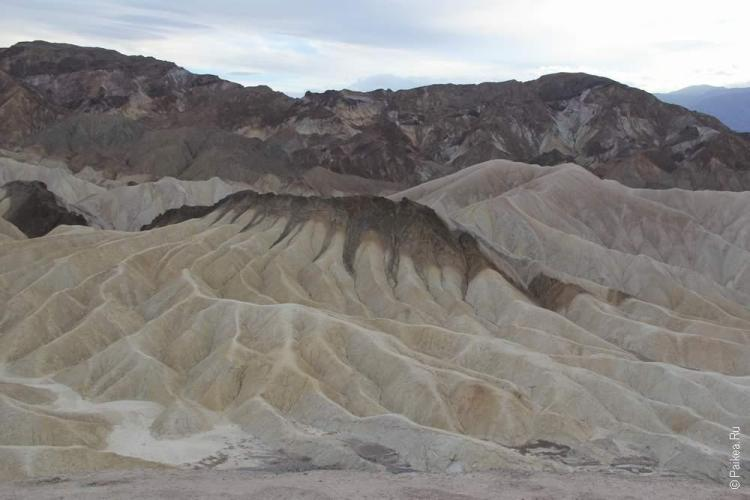 Забриски пойнт, Долина Смерти, США (Death Valley, USA)