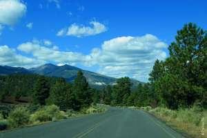 Дорога к Сансет Кратер