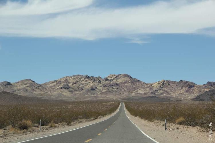 Убехебе кратер, Долина Смерти, США (Ubehebe crater, Death Valley, USA)