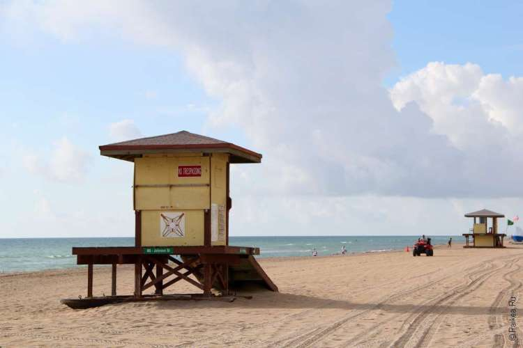Майами пляж Голливуд