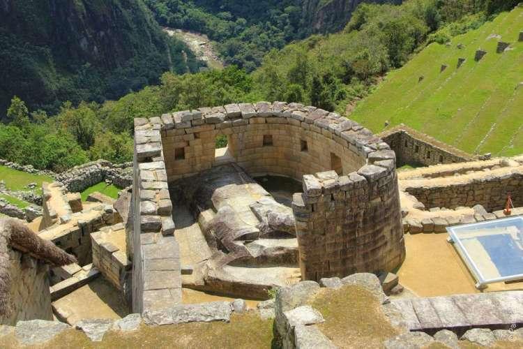 Храм Солнца Мачу-Пикчу