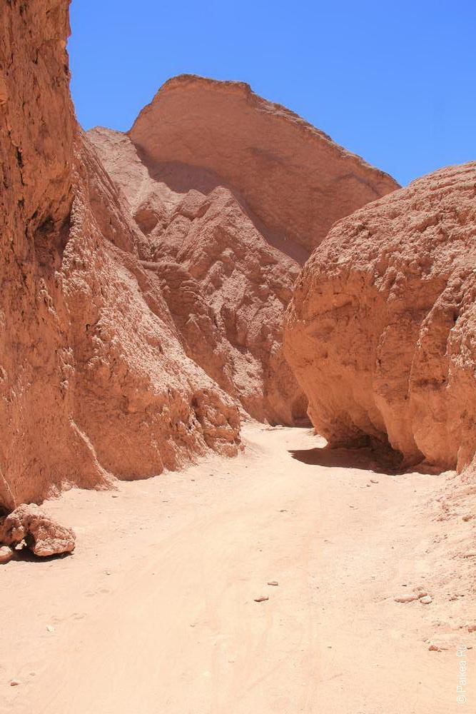 Глотка Дьявола, Чили (Quebrada del Diablo, Chile)