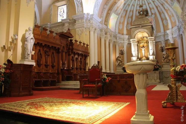 Внутри Кафедраля Арекипа