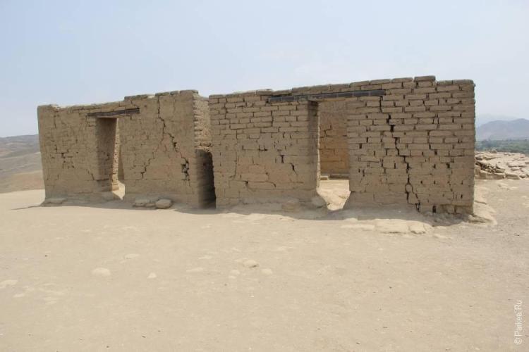 Строения на последнем уровне крепости