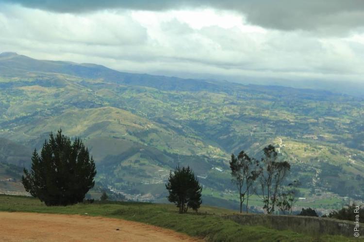 Зеленые холмы Кахамарки