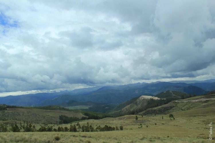 красивые горы и облака