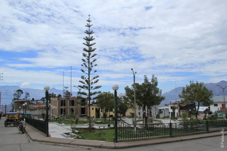 центральная площадь в Сан-Пабло
