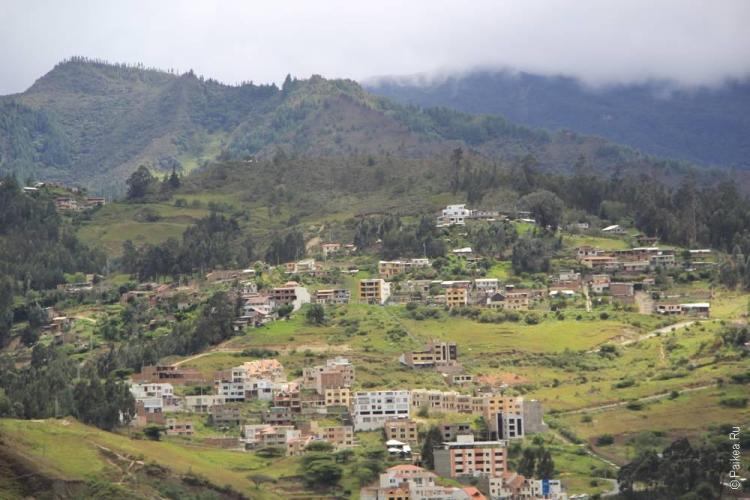 Эквадор, Зеленые горы вокруг Лохи
