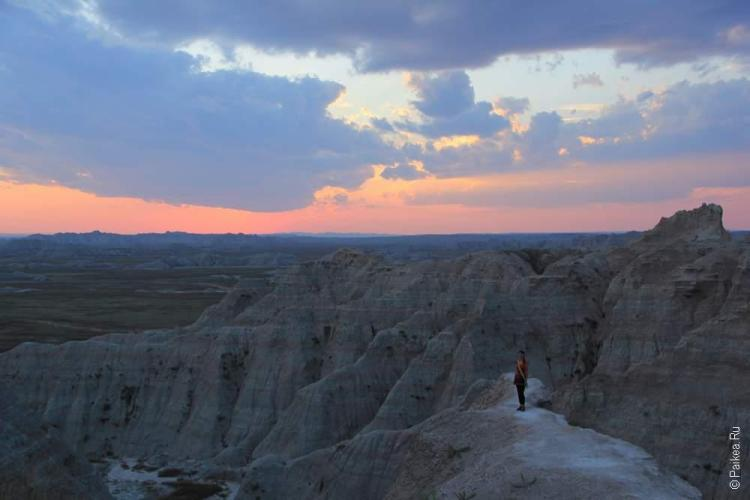 дикий запад сша закат