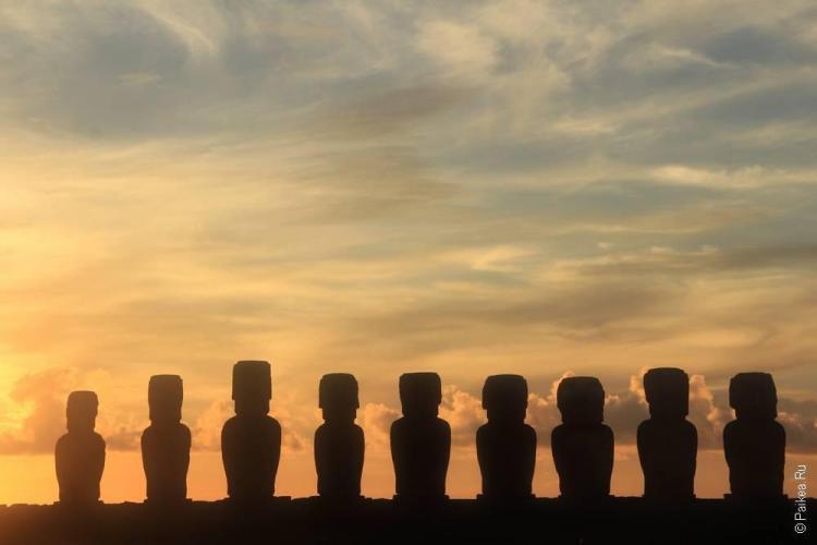 Моаи остров Пасхи