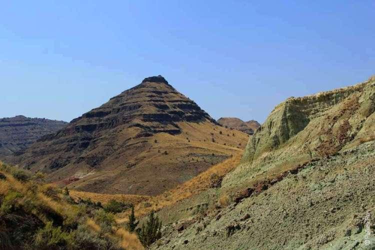 Естветсвенная пирамида в штате Орегон