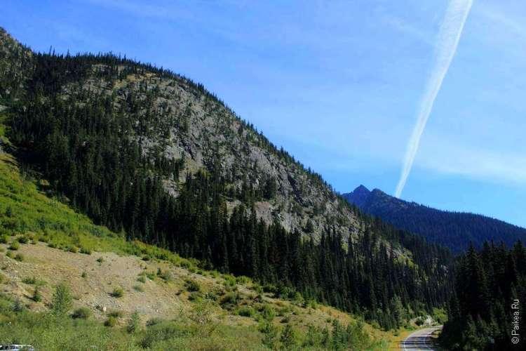 вашингтон пасс каскадные горы