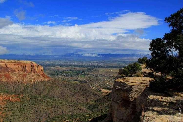 Живописная дорога Rim Rock Drive, Национальный памятник Колорадо, США 03