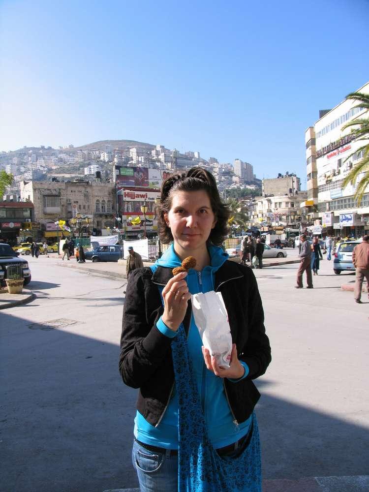 Фалафели в Наблусе, Палестина
