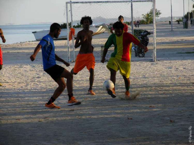 Футбол на Мальдивах