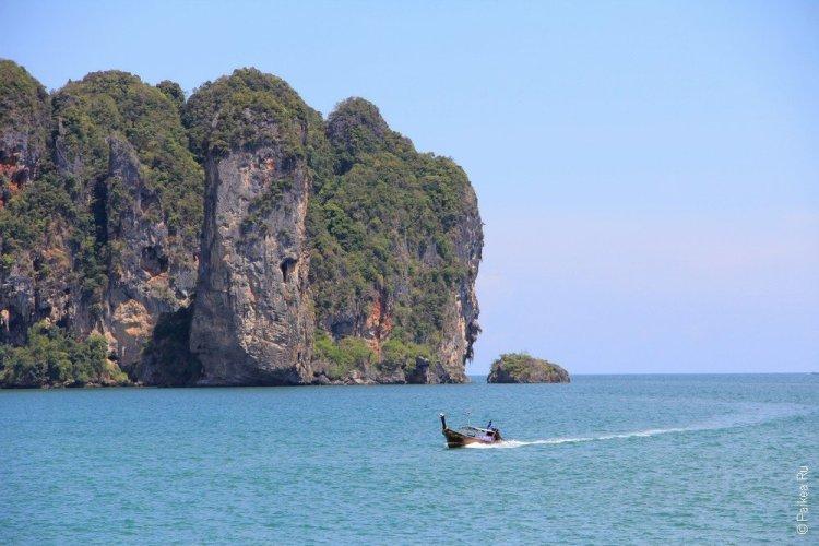 пляжи краби ао нанг бич