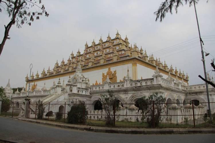 Пирамида в Мьянме