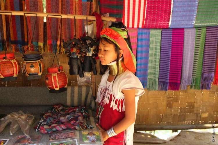 Красные карены (кая) Северный Таиланд