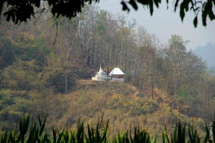 Храм на горе Таиланд