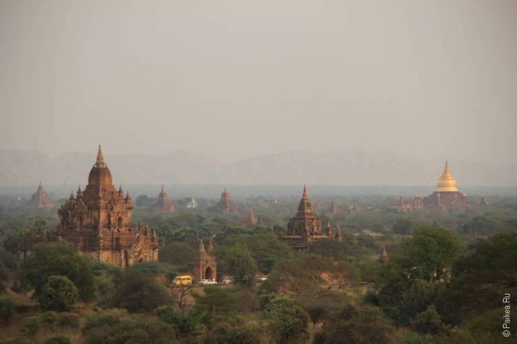 мьянма баган