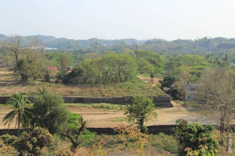 дворец мраук-у мьянма