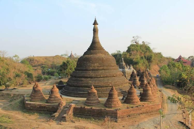 Пагода Андо Тейн в Мраук-У