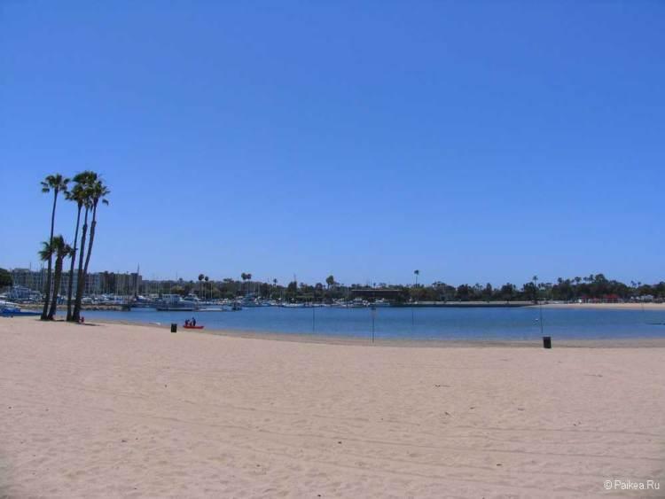 пляж марина бич