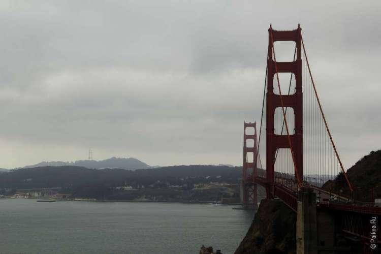 Мост Золотые Ворота в Сан-Франциско, штат Калифорния, США