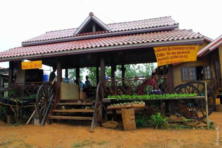 Кафе-магазин семейной чайной фабрики