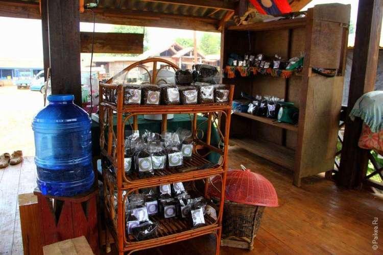 Купить чай в Лаосе