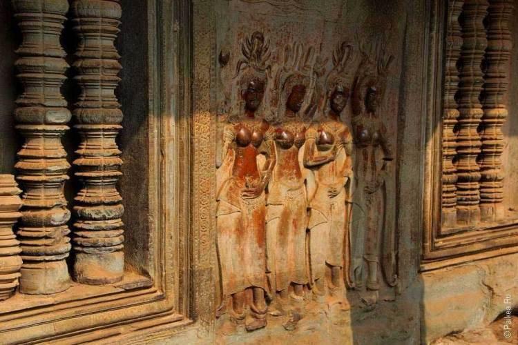 ангкор ват внутри храма