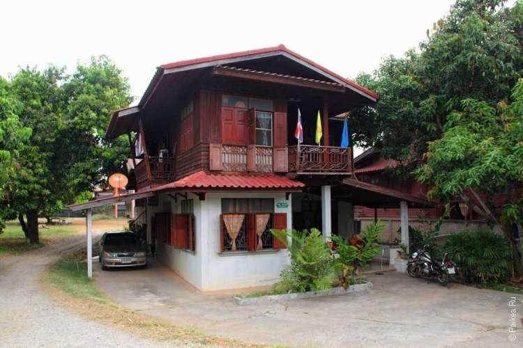 Домики в городе Нан Таиланд