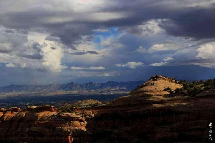 Трейл Кухня Дьявола Национальный памятник Колорадо США 07