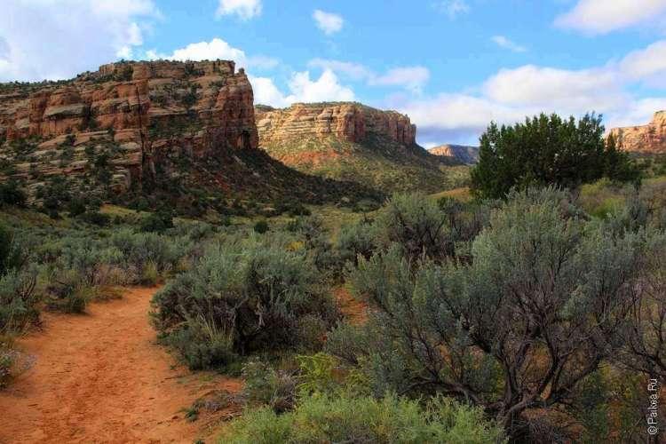 Трейл Кухня Дьявола Национальный памятник Колорадо США 02