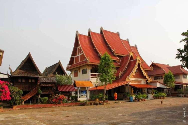 Традиционная архитектура Северного Таиланда