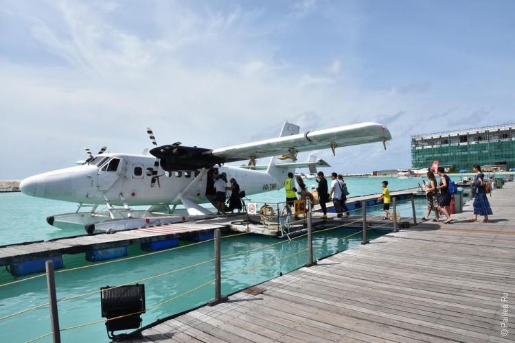 перелет на мальдивы seaplane